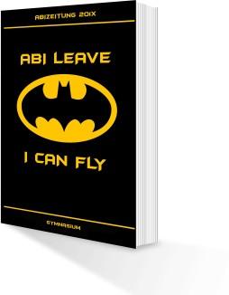 Abi leave I can fly 254x326 - Abizeitung günstig drucken