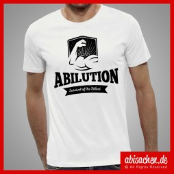 abilution survivel of the fittest abimotto abishirt abisachen 254x254 - Abi-Shirts