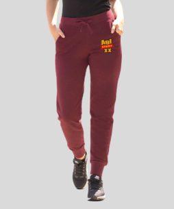 Lena Frauen Jogginghosen burgundy 254x305 - Abi-Shirts